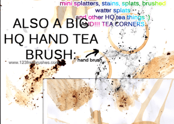Coffee and Tea Stains