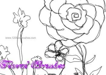 Scribble Flowers