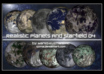 Realistic Planets and Starfield 1