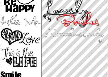 Valentines Day Lettering