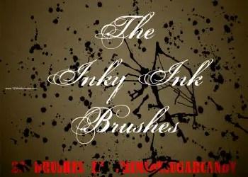 Inky Ink Splats