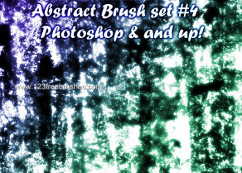 Abstract Brushes Cs4