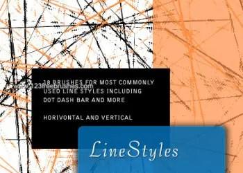 Grunge Line Styles