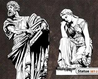 Statue Vector -