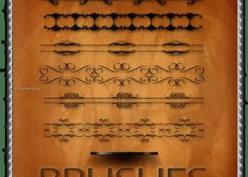 Calligraphic Border