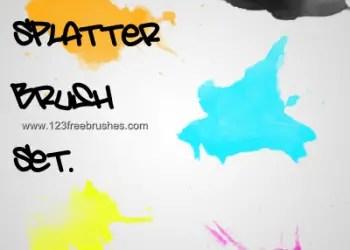 Watercolour Splatter