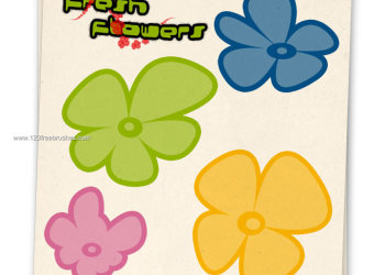 Flower Ornaments Brushes
