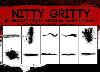Large Grunge Paint Stroke