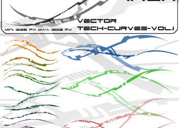 Vector Tech Curves