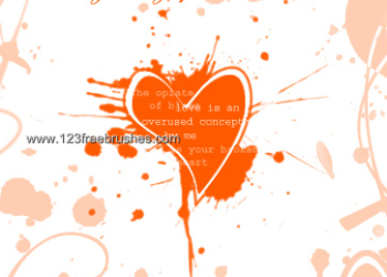 Splatter Heart