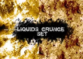 Liquids Grunge Set