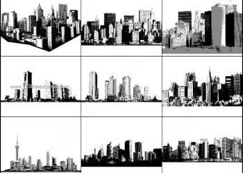 Cityscape and Skyline Free Photoshop Brushes