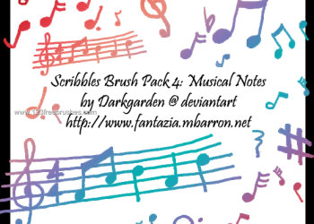 Scribbles Musical Notes