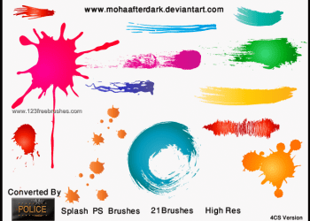 Paint Splash 24