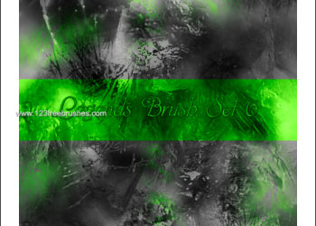 Abstract Border Brushes