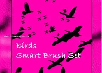 Birds Free Photoshop Brushes