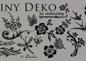 Tiny Deco Floral