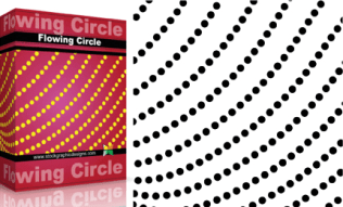 Flowing Shapes : Circle Pack