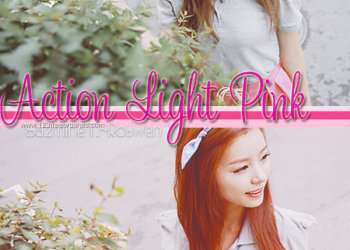 Photoshop Pink Actions