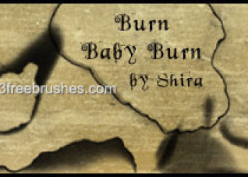 Grunge Burn Paper
