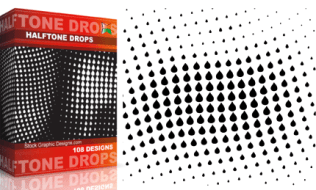 Halftone Drops Pack