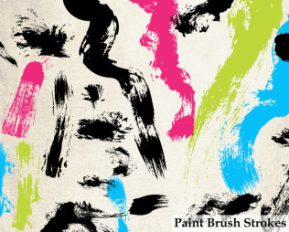 Paint Brush Strokes Vector Illustrator