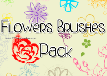 Free Floral Brushes Photoshop