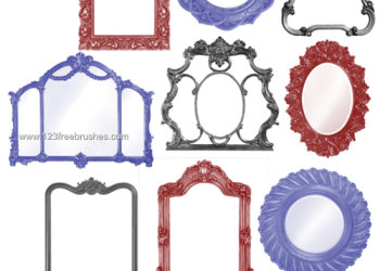 Vintage Ornate Frames Pack 1