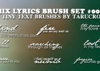 Mix Lyric