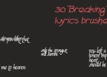 Breaking Benjamin Lyrical