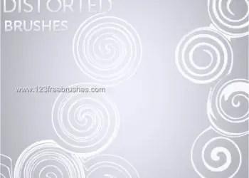 Distorted Swirls
