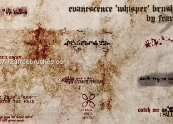 Evanescence Whisper Lyrics