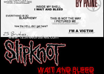 Wait and Bleed Text