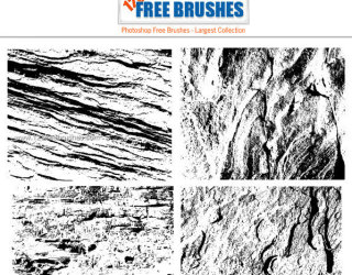 Free Grunge Destroy Texture Brush Pack