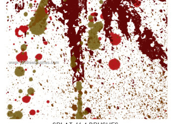 Paint Splatter 14