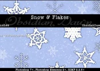 Snow Snowflakes