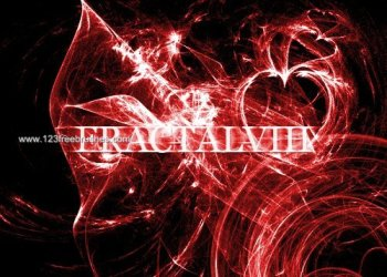 Abstract Fractal Brushes Photoshop