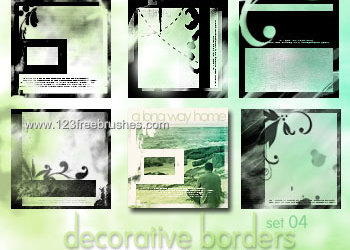 Decorative Borders Set
