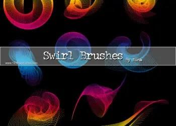 Abstract Line Swirl