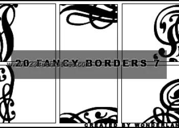 Fancy Corner Borders 2