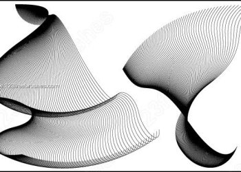Flowing Curves Vector and Photoshop Brushes