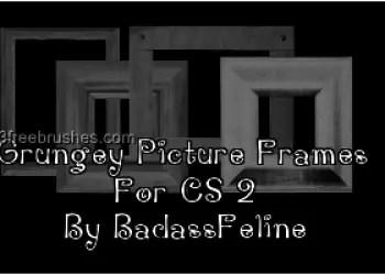 Grunge Picture Frames