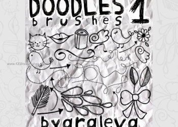 Handmade Scribbles and Doodles  1