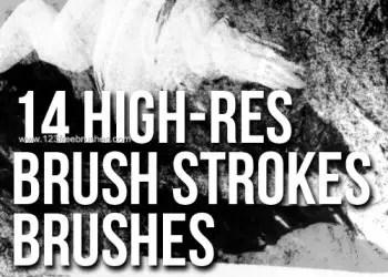High-Resolution Brush Stroke