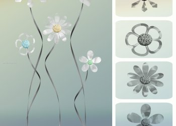 Spring Flower and Cutouts