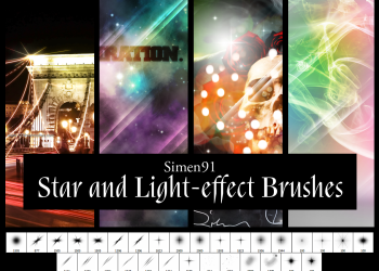 Star And Light Effect
