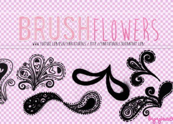 Flower Brushes For Adobe Photoshop 7.0
