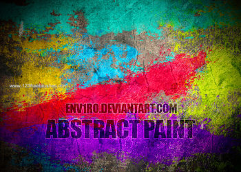 Abstract Paint