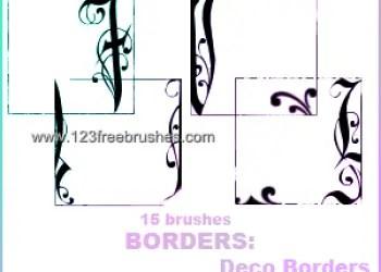 Deco Border Frames