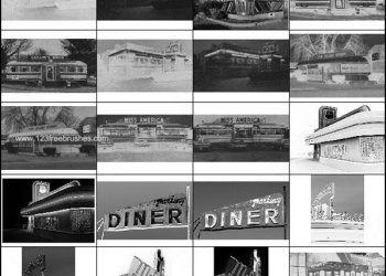 Building Photoshop Brushes – Diner – Hotel